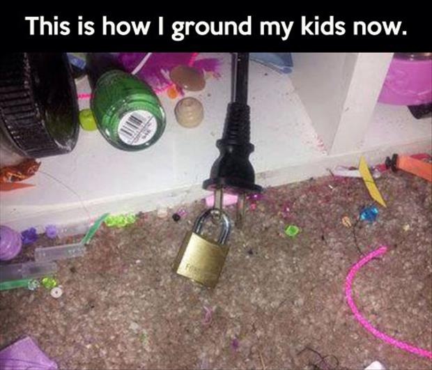 how to ground your kids