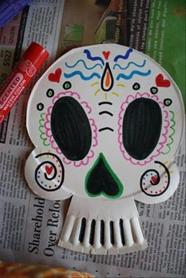how to make a skull crafts