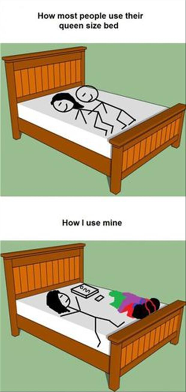 how to use a queen size bed