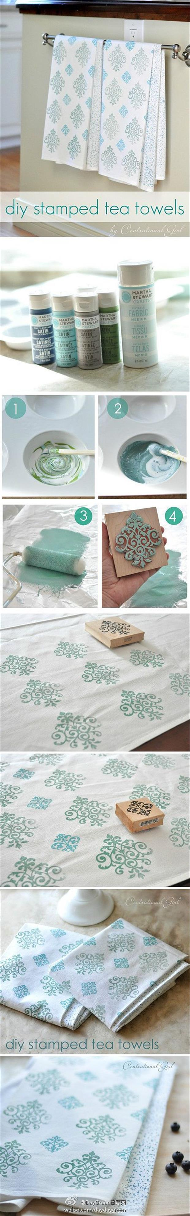 make your own table cloth crafts