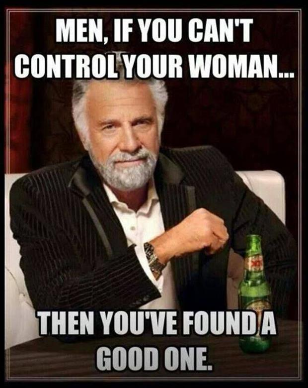 men control your women