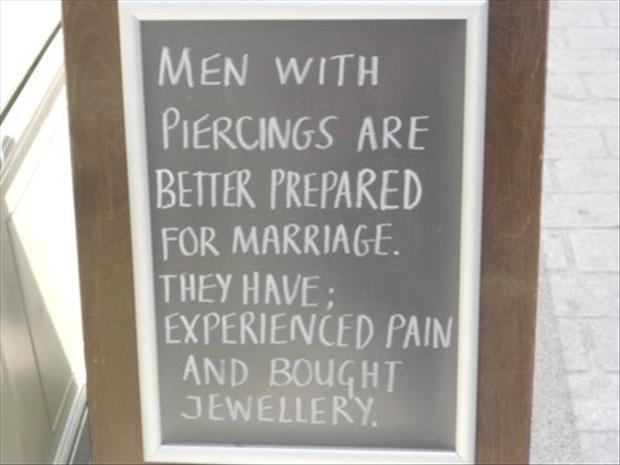 men with piercings