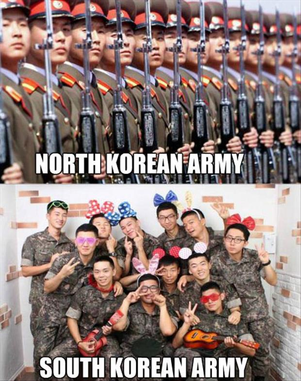 north korea army funny pictures