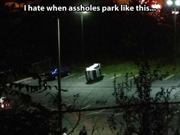 parking funny