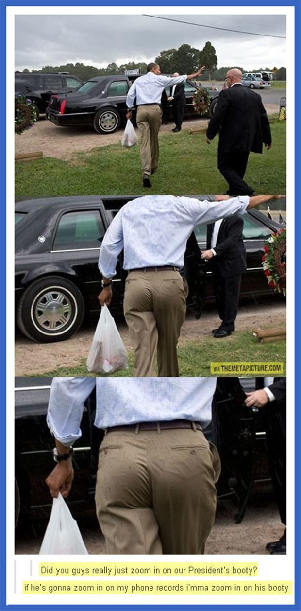 presidents butt