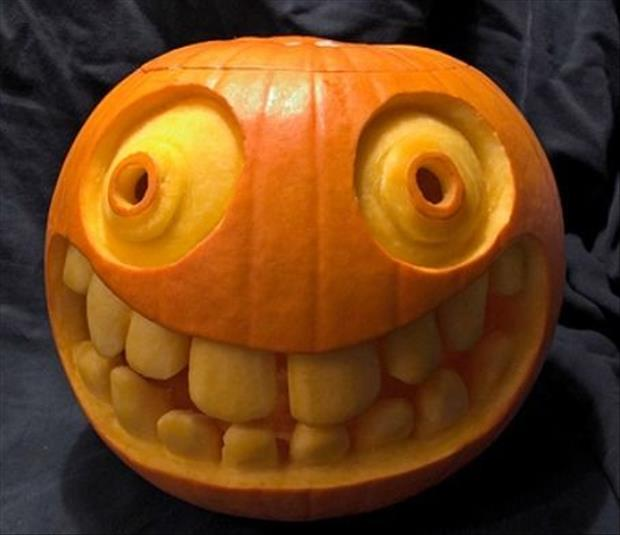 Pumpkin carving ideas dump a day