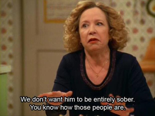 sober people