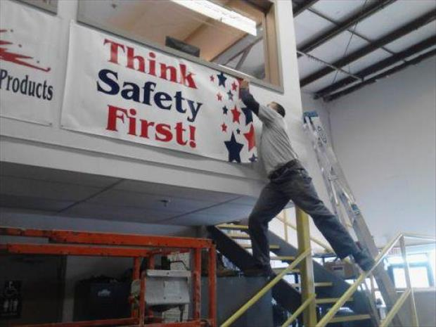 think saftey first