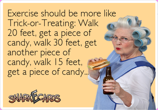 trick or treating for candy ecards