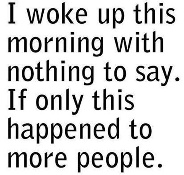 woke up with more people