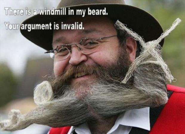 your argument is invalid (14)