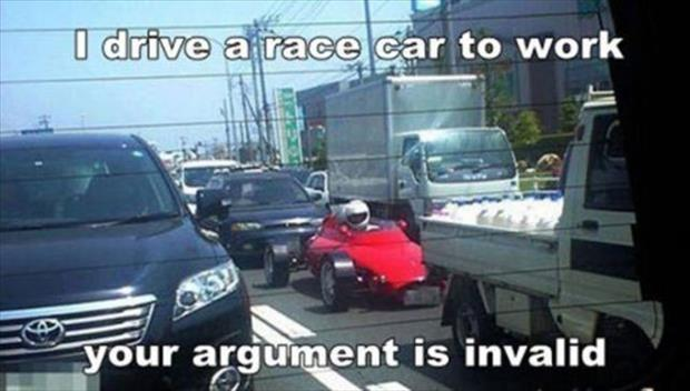 your argument is invalid (19)