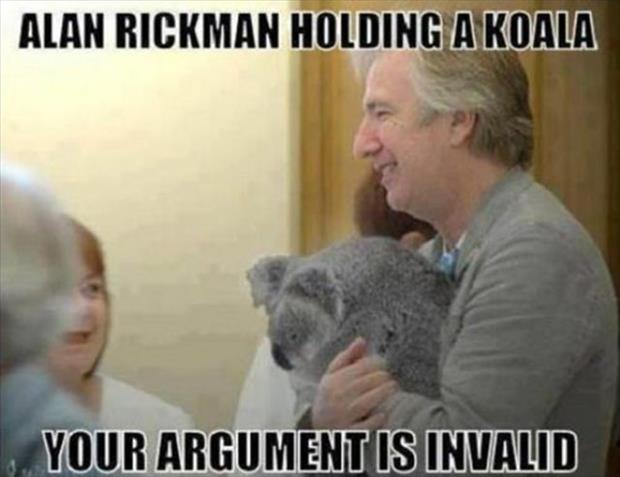 your argument is invalid (3)