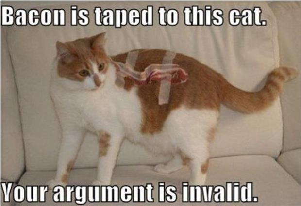 your argument is invalid (7)