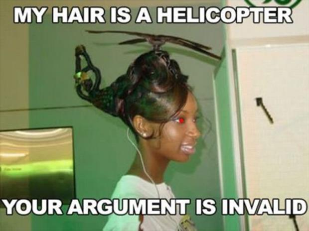 your argument is invalid (9)