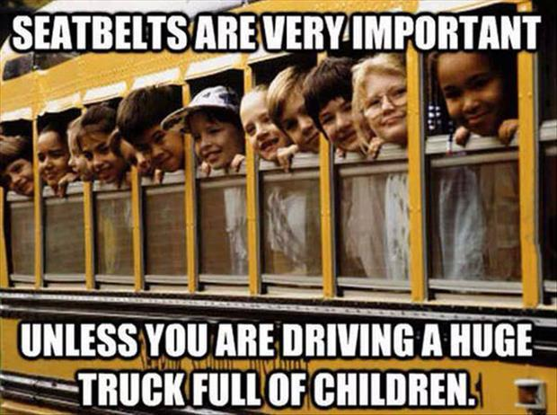 a seatbelt is important with kids