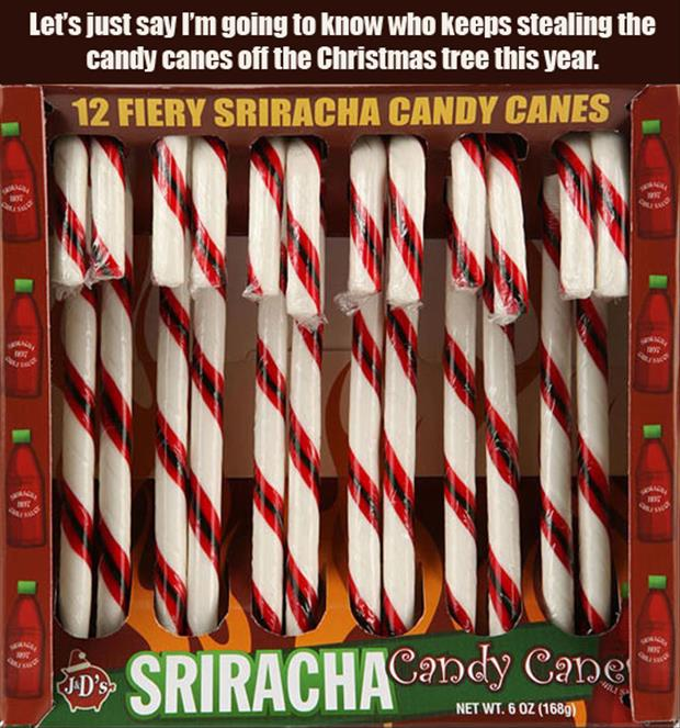 a spicy hot candy canes