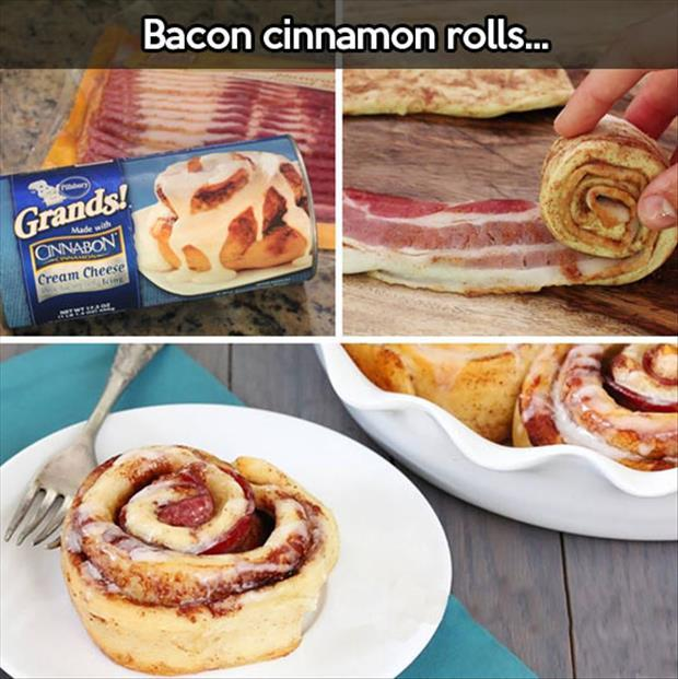 bacon cinimon rolls