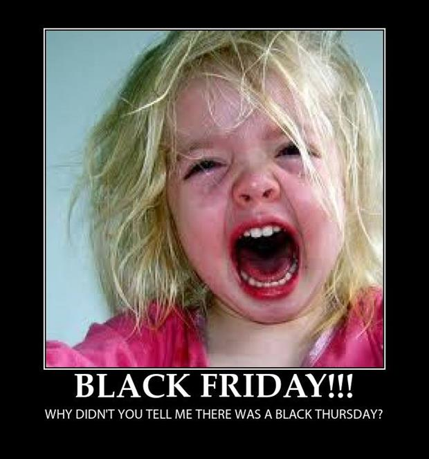 black friday shopping funny pictures