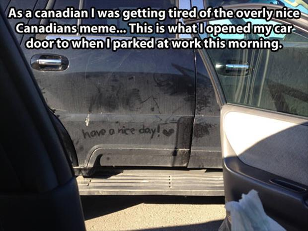 canadians are nice