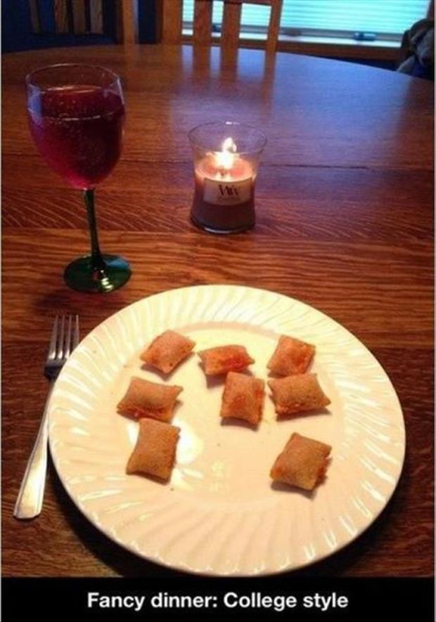 fancy college dinners