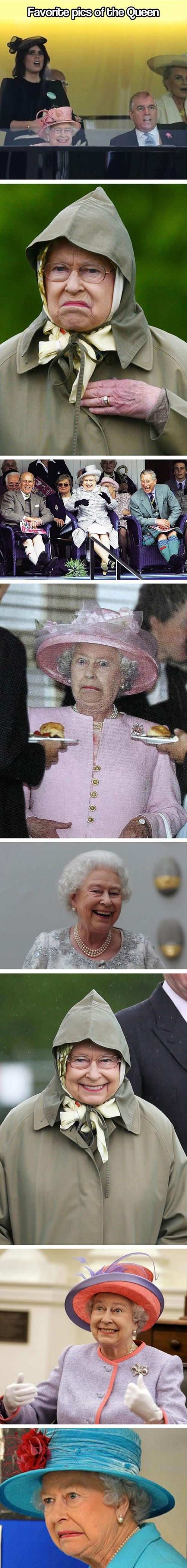 favorite pictures of the queen of england