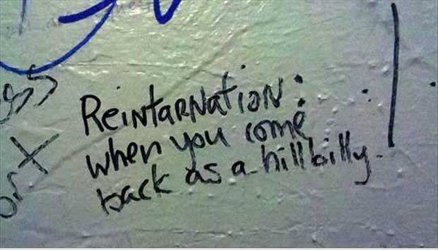 funny bathroom wall writings