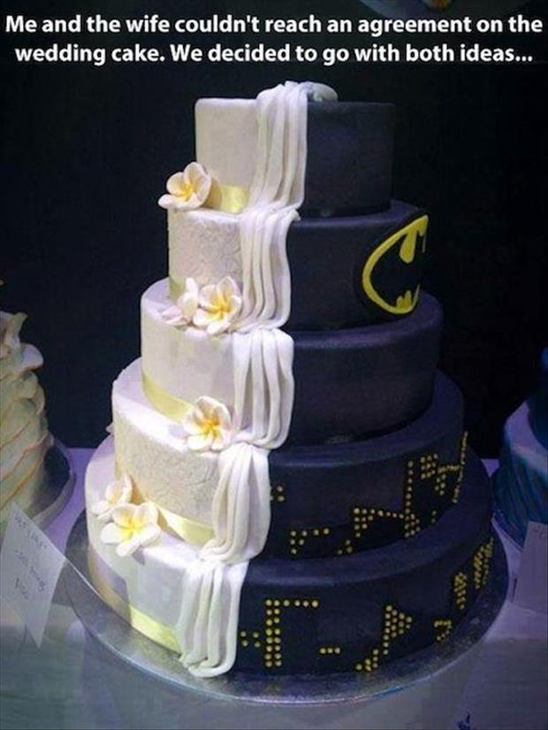 Funny Wedding Cakes