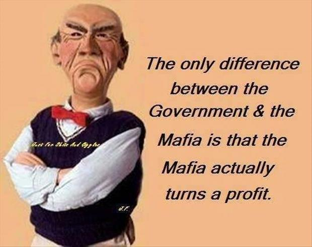 government and the mafia