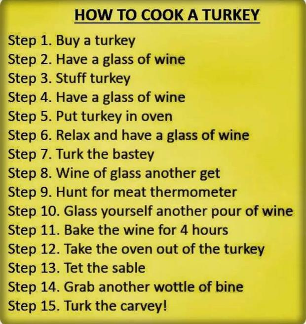 how to cook a turkey
