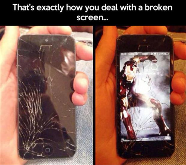how to fix a broken iphone screen