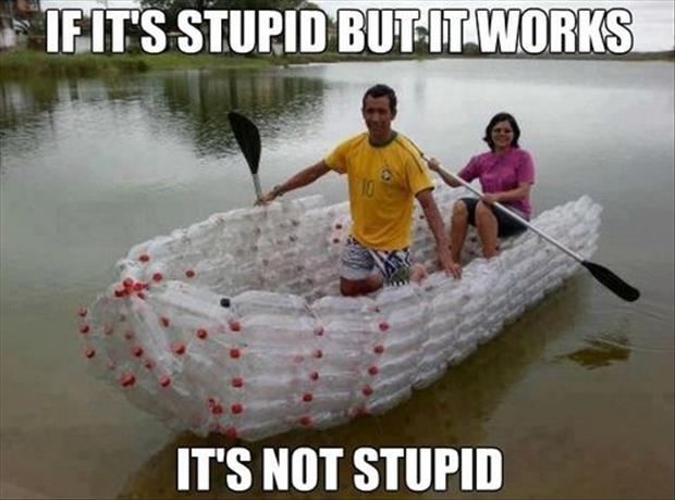 it's not stupid
