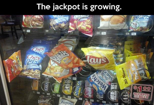 jackpot vending machine