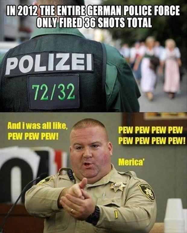 merica police department