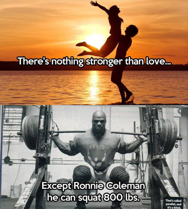 nothing is stronger than love