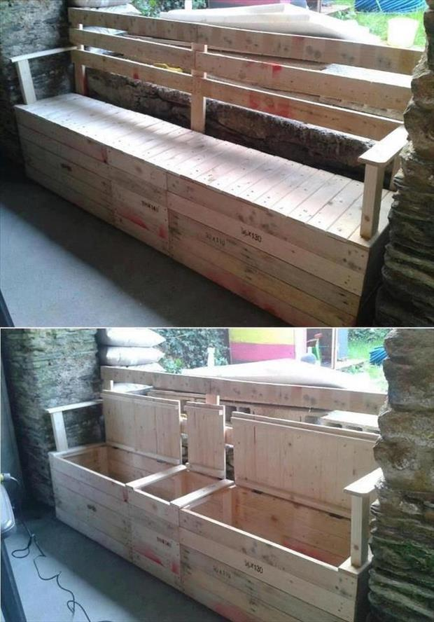 amazing uses for old pallets 32 pics. Black Bedroom Furniture Sets. Home Design Ideas