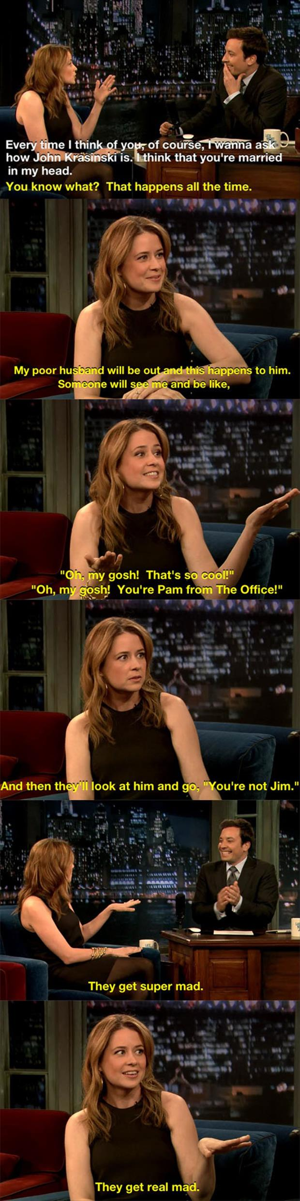 pam from the office