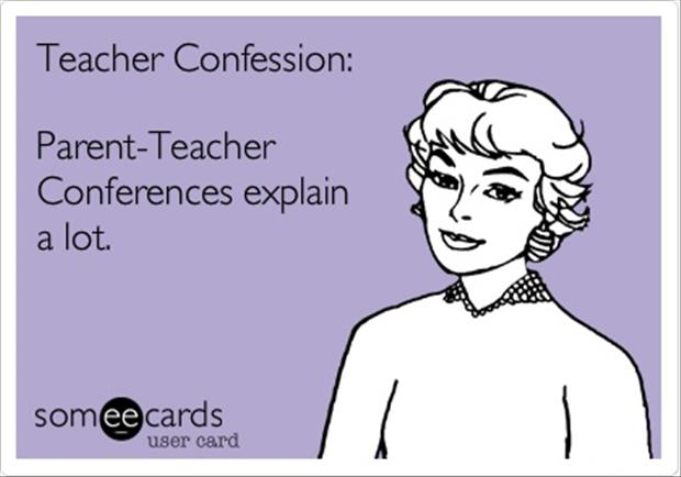 parent teacher confrences
