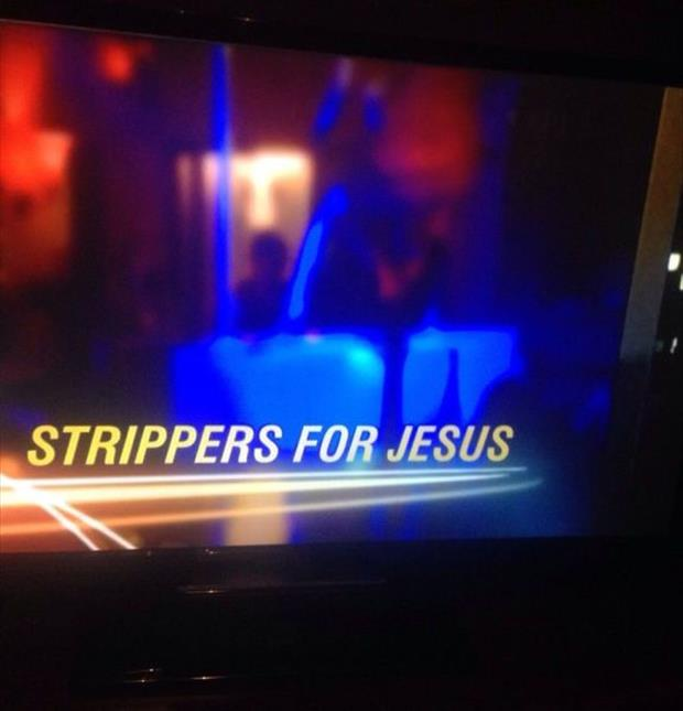 strippers for Jesus