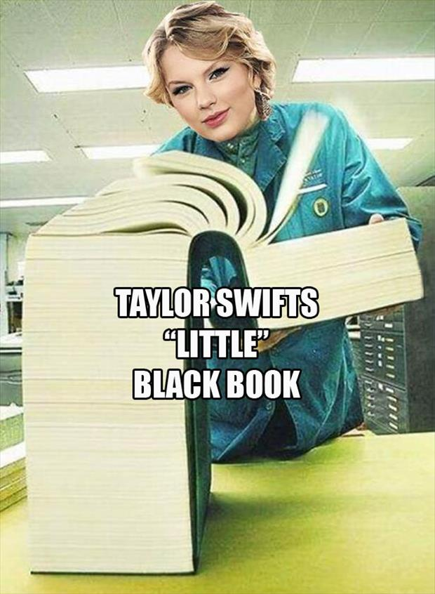taylor swifts little black book