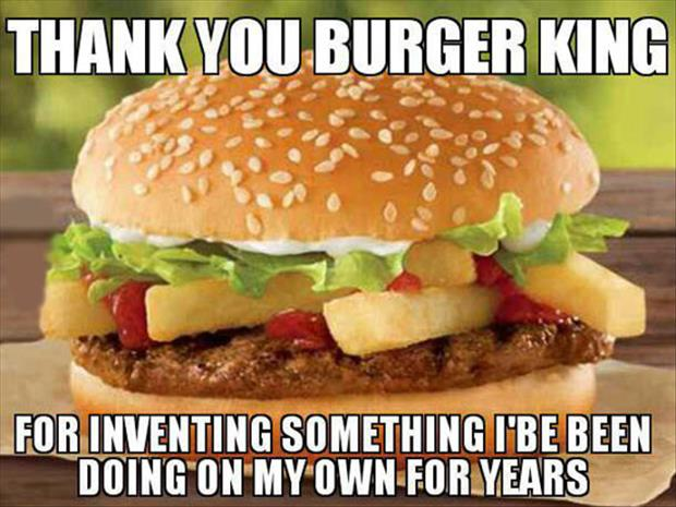 thank you burger king