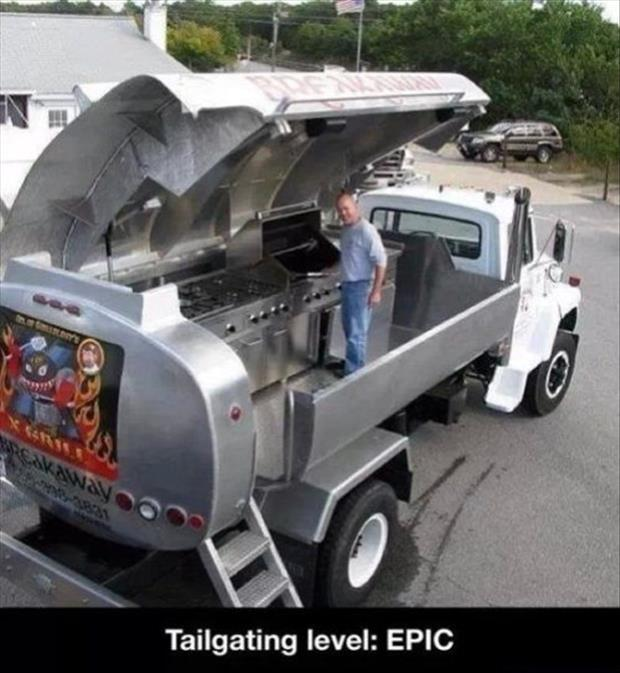 the best tailgating