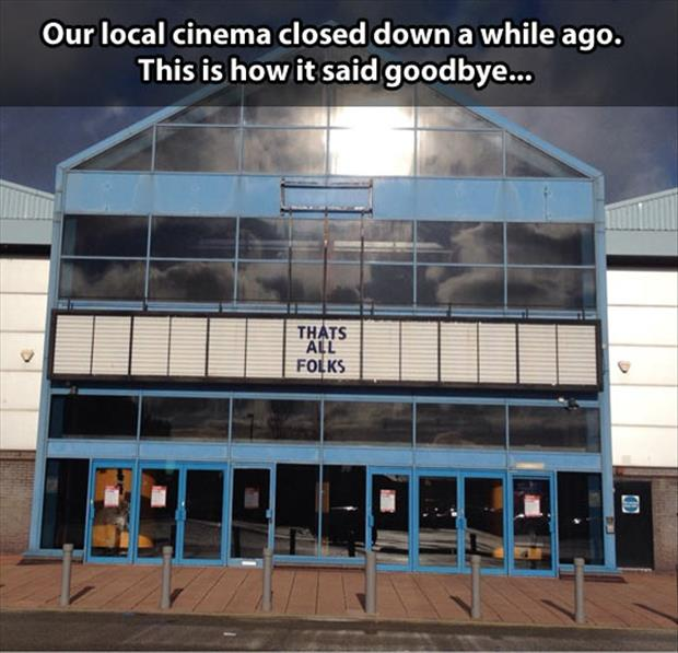 theater closes down