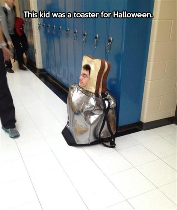 toaster halloween costume