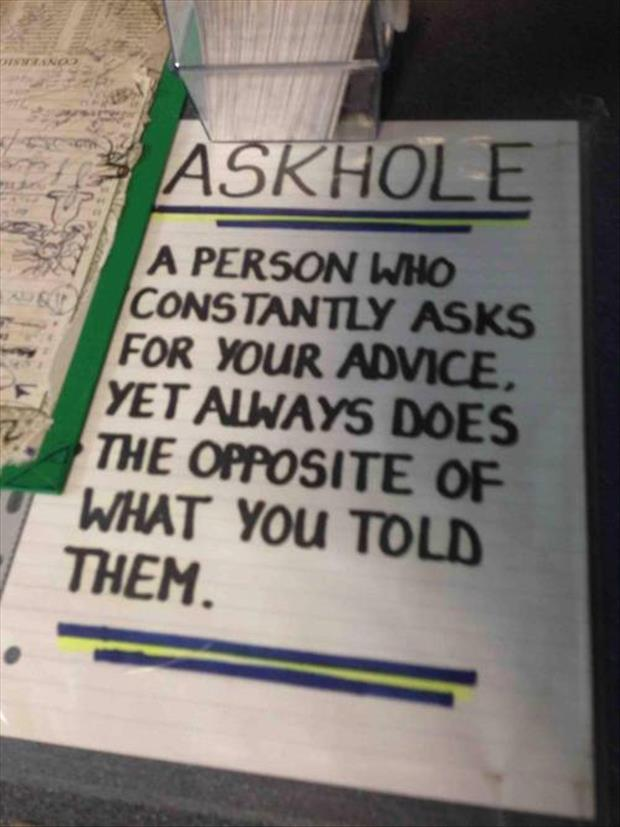 what an askhole is