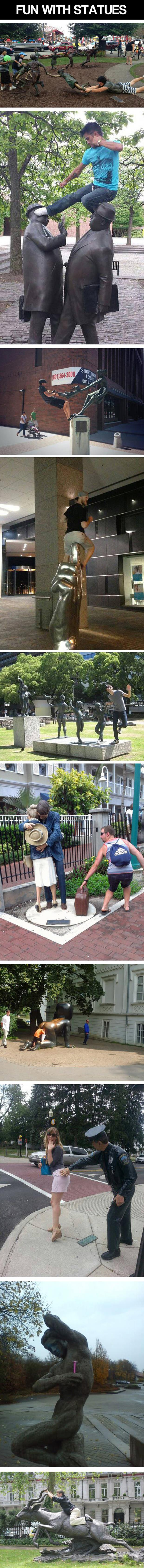 z fun with statues