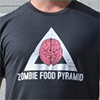 Zombie Food Pyramid Shirt
