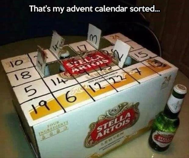 a The beer advent calendar