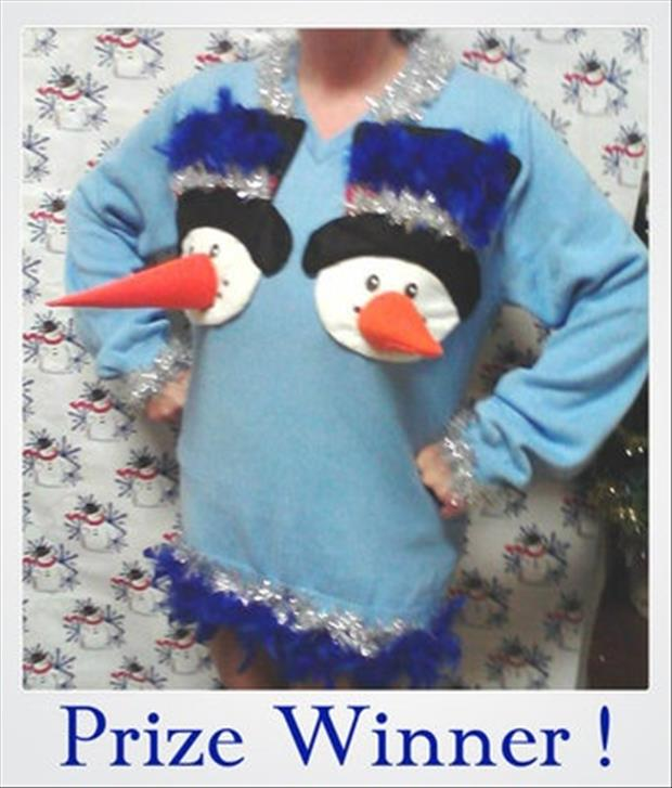 a bad christmas sweater