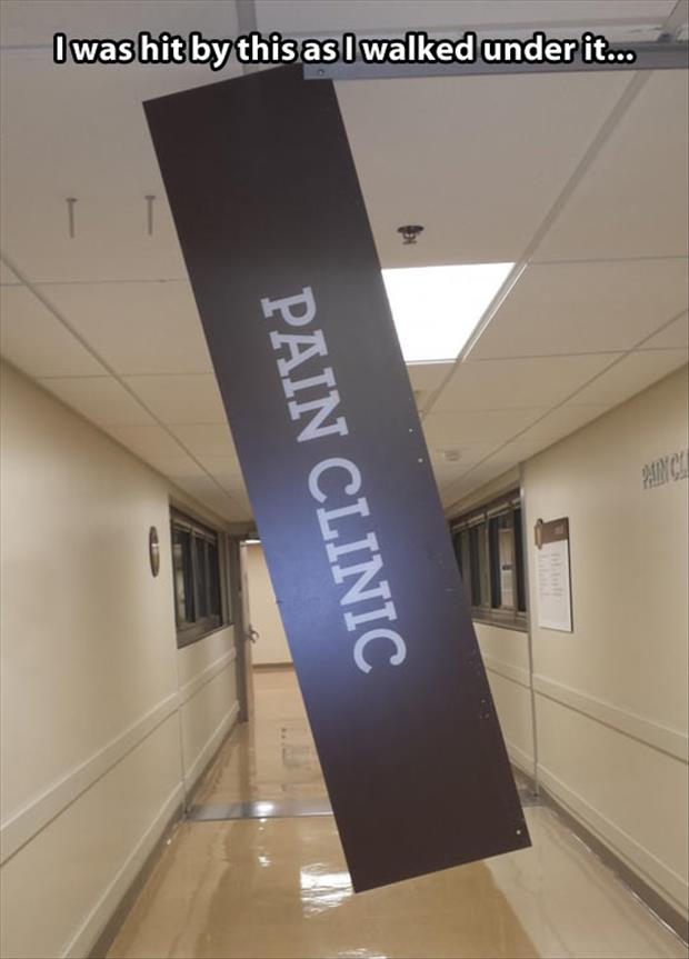 a pain clinic